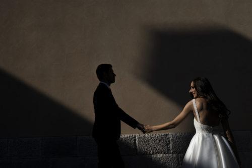 Post matrimonio Foggia luce sposi